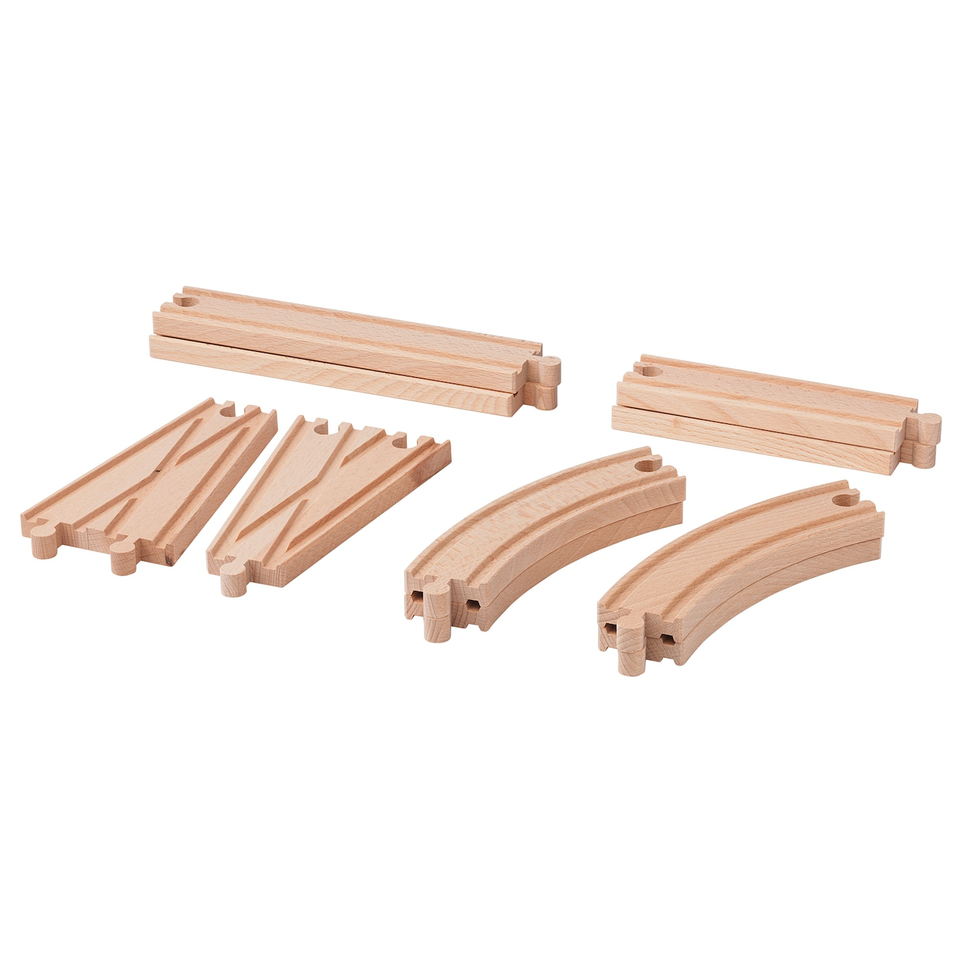 IKEA LILLABO rail Combines with most other railway systems on the market.