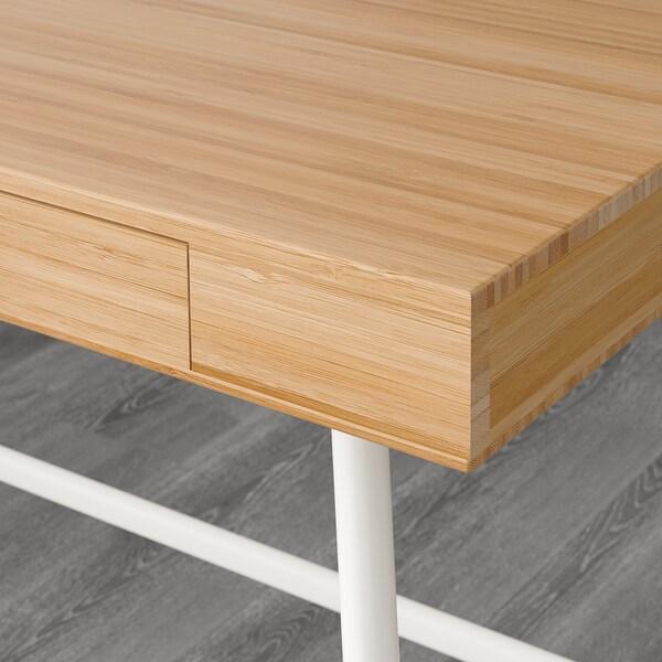 LILLÅSEN desk bamboo 102 cm 49 cm 74 cm 23 cm 32 cm 6 cm