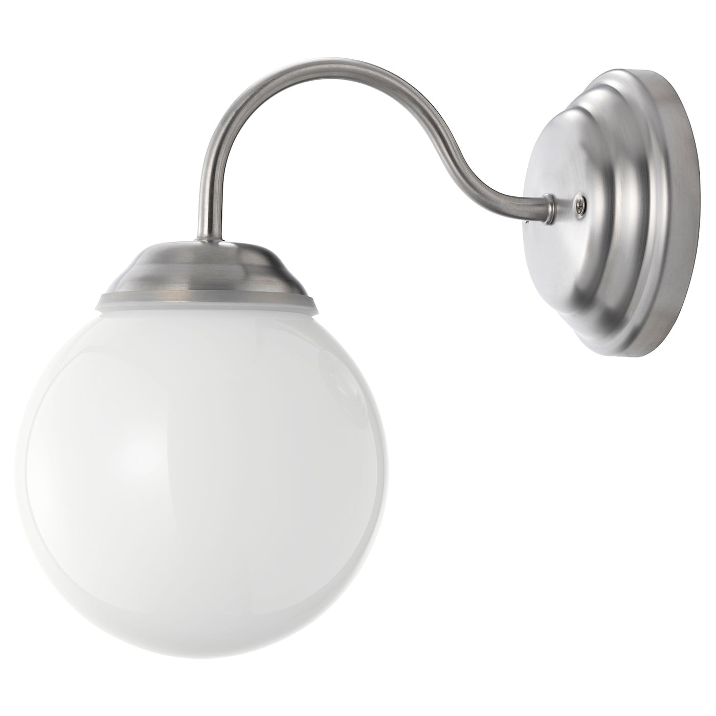 IKEA LILLHOLMEN wall lamp Flexible; can be mounted with the light turned downwards or upwards.
