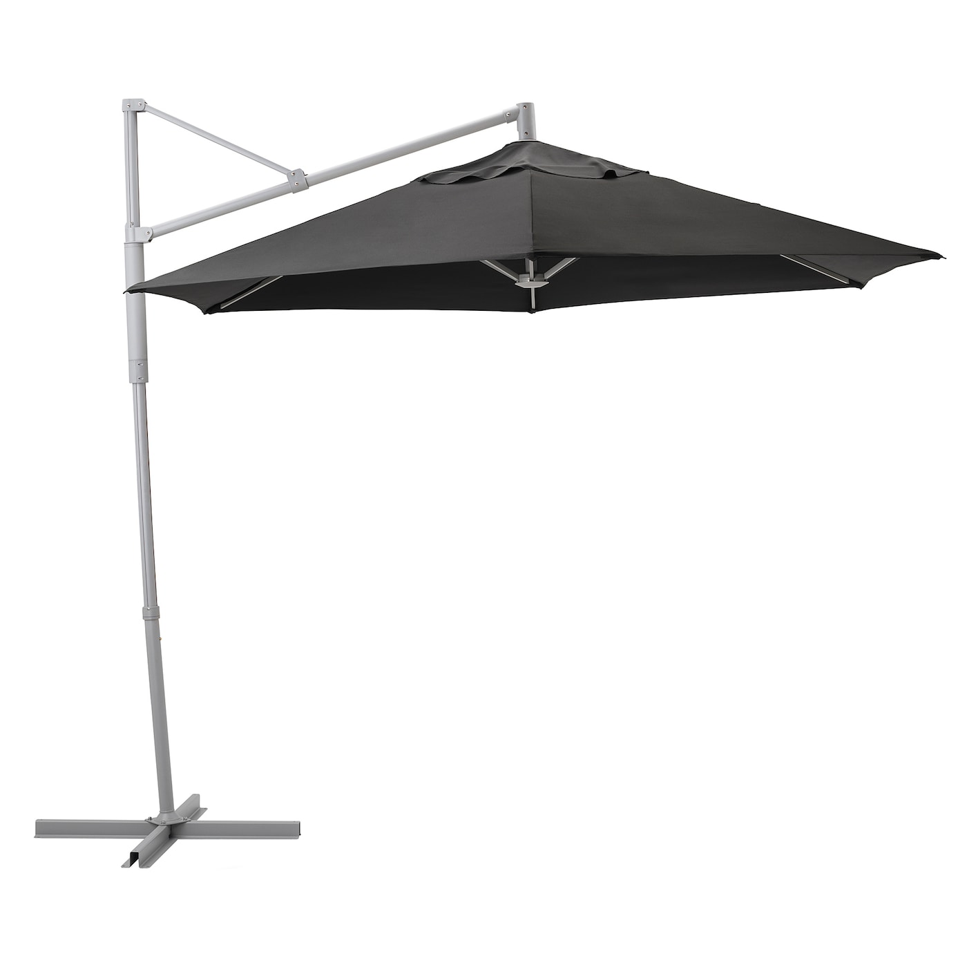 IKEA LINDÖJA/OXNÖ parasol, hanging You open, close or tilt the parasol by using the discreet handle.