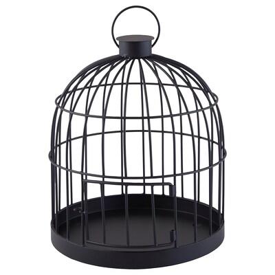 LINDRANDE Decoration, cage black, 28 cm