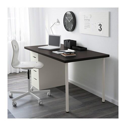 ikea schreibtisch linnmon alex. Black Bedroom Furniture Sets. Home Design Ideas