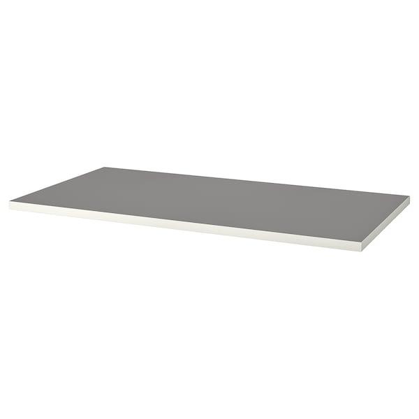 LINNMON Table top, light grey/white, 150x75 cm