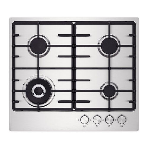 IKEA LIVSLÅGA gas hob 5 year guarantee. Read about the terms in the guarantee brochure.