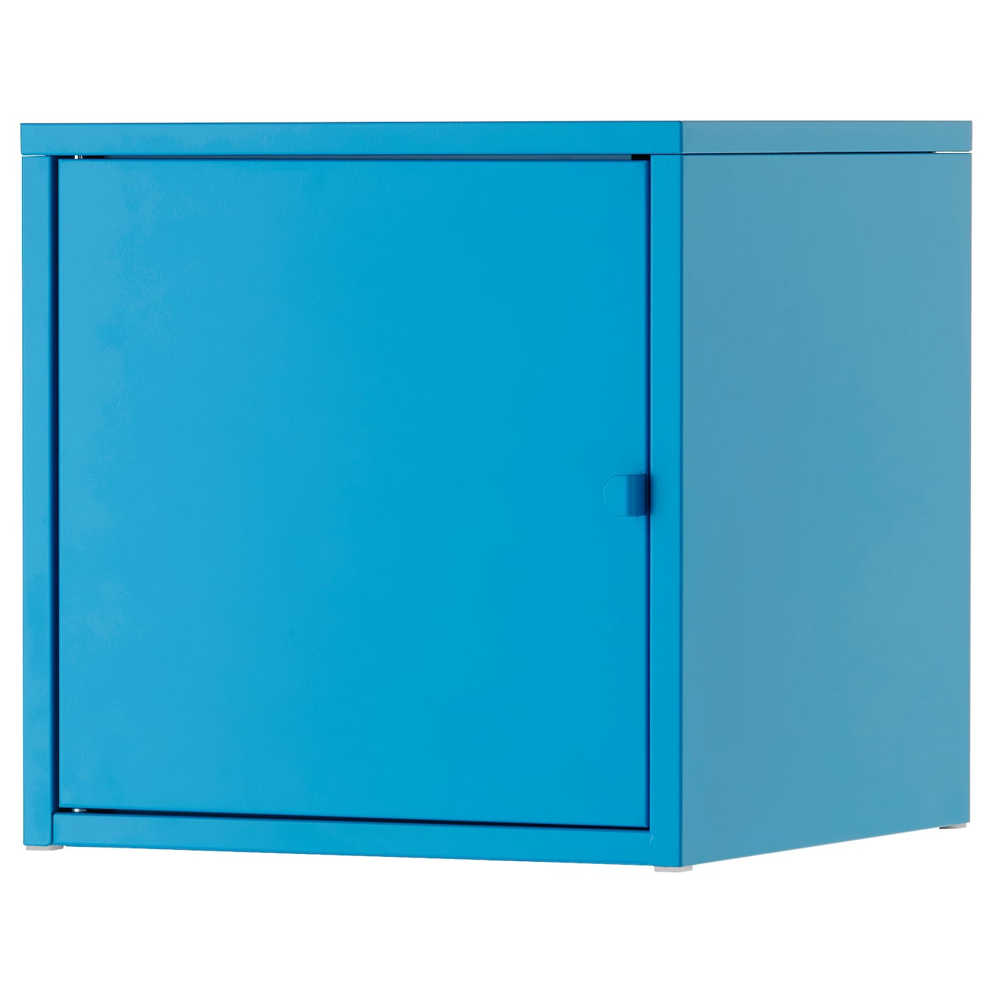 Lixhult cabinet metal blue 35x35 cm ikea for Metal lockers ikea
