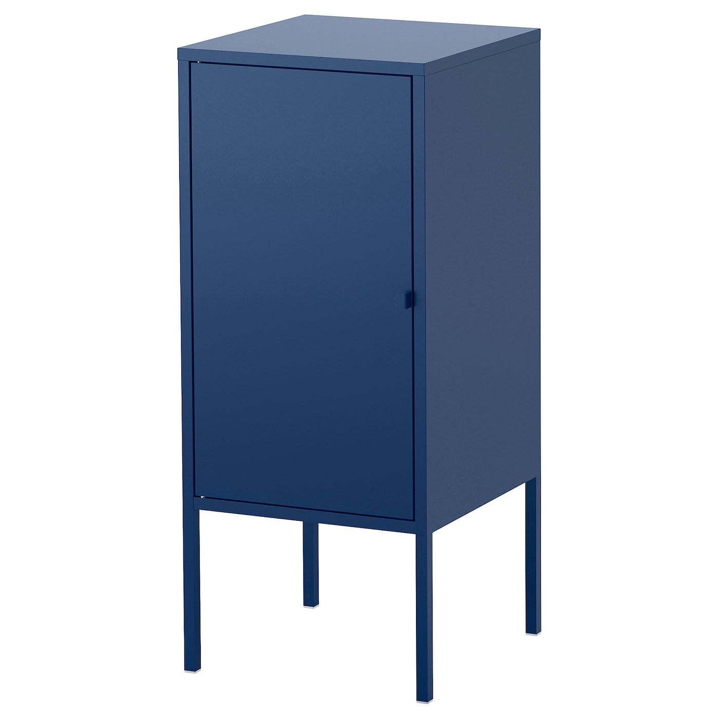 Lixhult cabinet metal dark blue 35x60 cm ikea for Metal lockers ikea