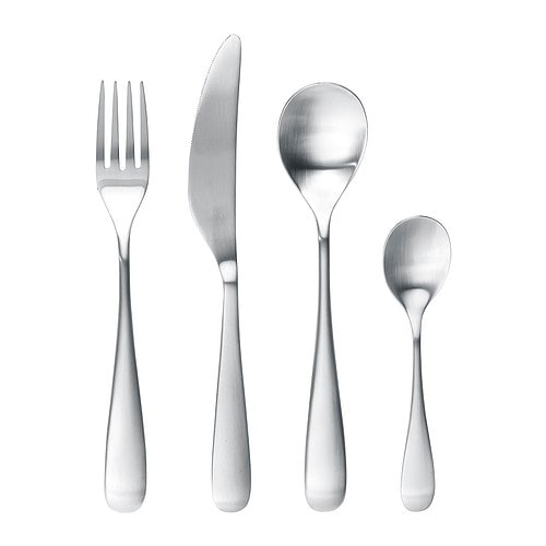 LÖJA 24-piece cutlery set IKEA