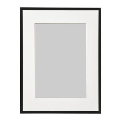 LOMVIKEN Frame Black 30 x 40 cm - IKEA