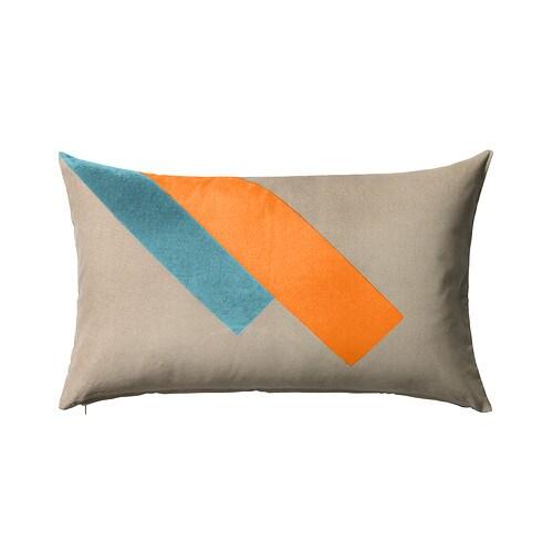 Luktaster cushion cover multicolour 40x65 cm ikea for Ikea uk cushion covers