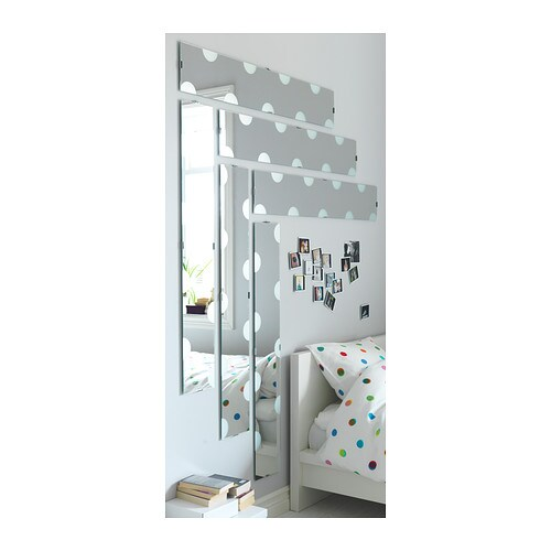Lundamo mirror 20x120 cm ikea for 4 miroirs vague ikea