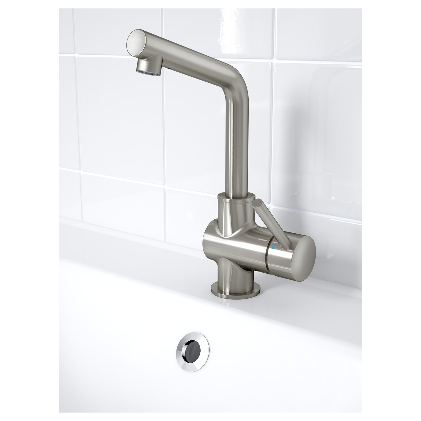 IKEA LUNDSKÄR wash-basin mixer tap with strainer
