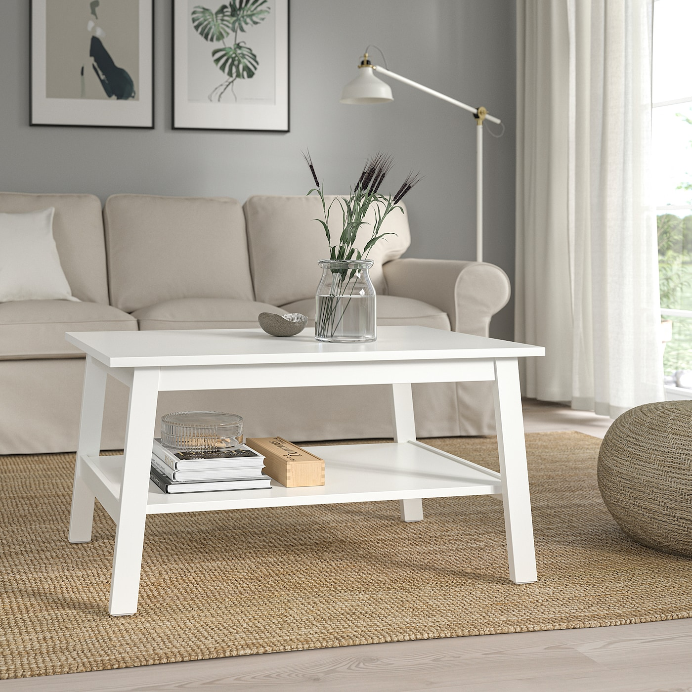 Lunnarp Coffee Table White 90x55 Cm Ikea Ireland [ 1400 x 1400 Pixel ]