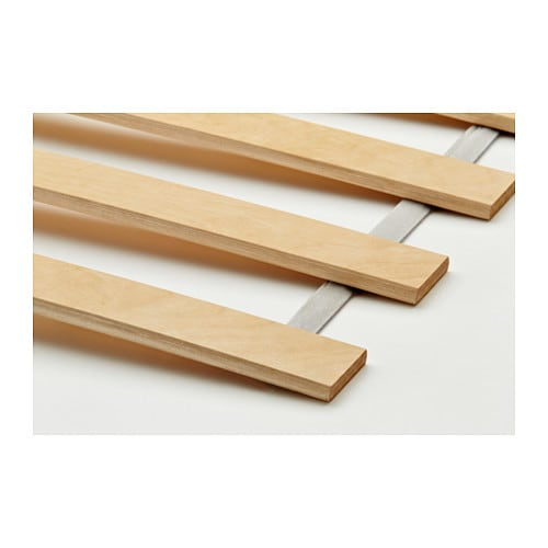 Lur y slatted bed base 80x200 cm ikea - Sommier lattes 120x190 ...