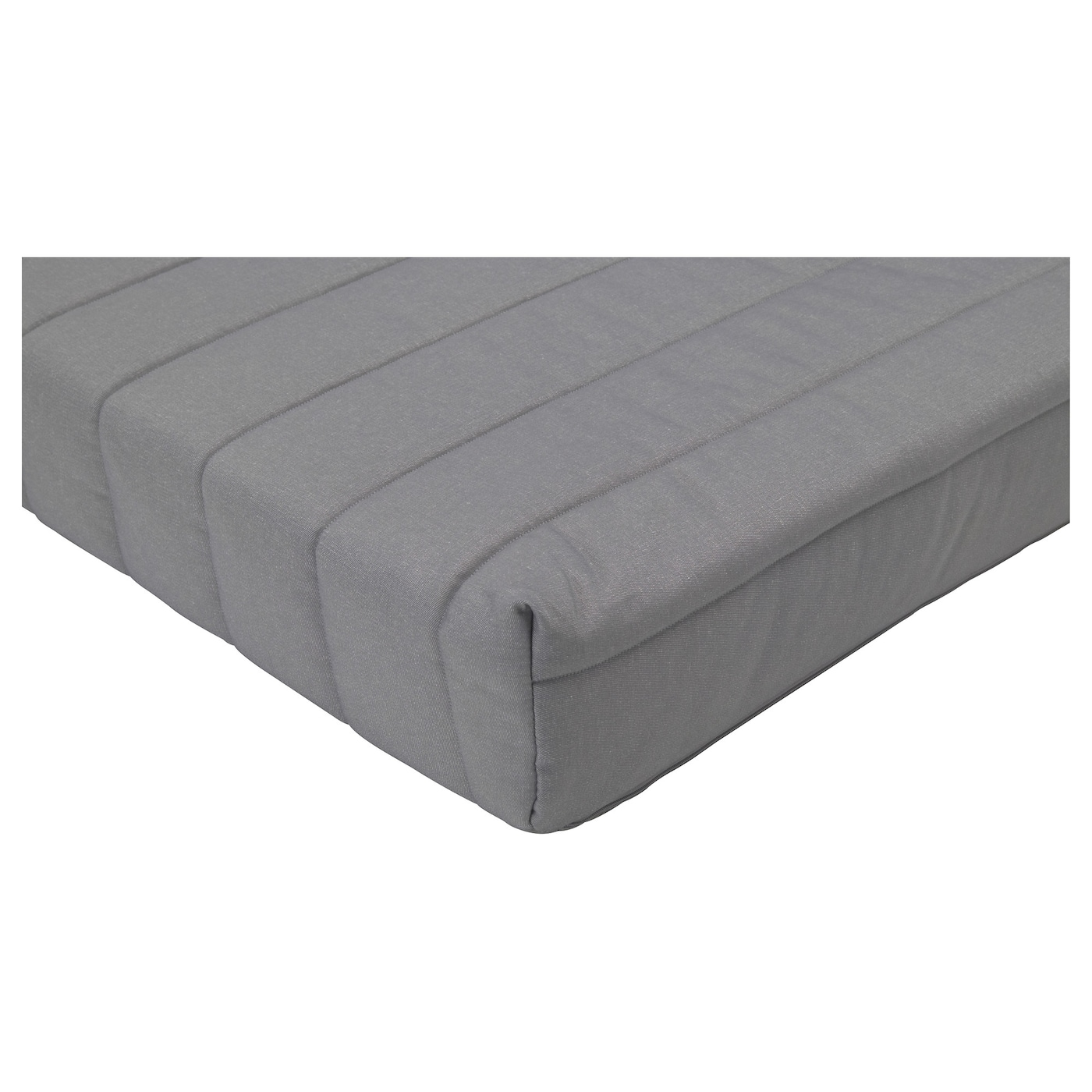 IKEA LYCKSELE LÖVÅS mattress A simple, firm foam mattress for use every night.