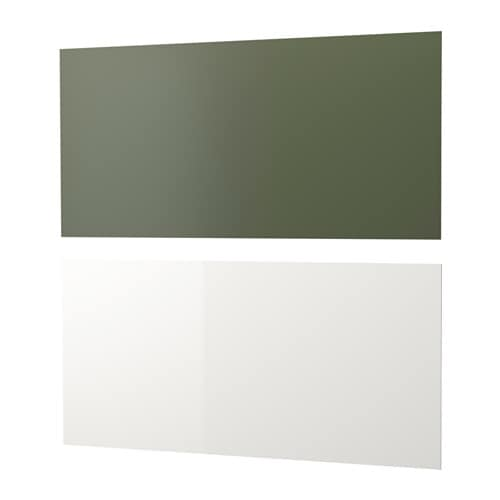 IKEA LYSEKIL wall panel Protects the wall against soiling and makes cleaning easy.