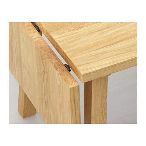 Jugendzimmer Ideen Mädchen Ikea ~ IKEA MÖCKELBY drop leaf table The plank expression is enhanced by the