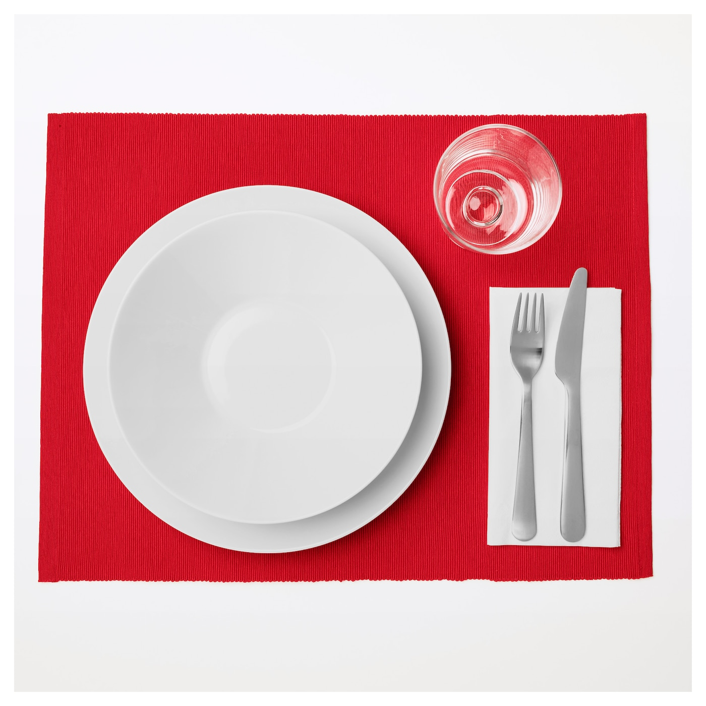 IKEA MÄRIT place mat Protects the table top surface and reduces noise from plates and cutlery.