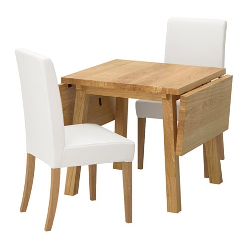 IKEA MÖCKELBY/HENRIKSDAL table and 2 chairs