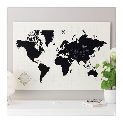 m lltorp blackboard planner plan your world 95x67 cm ikea