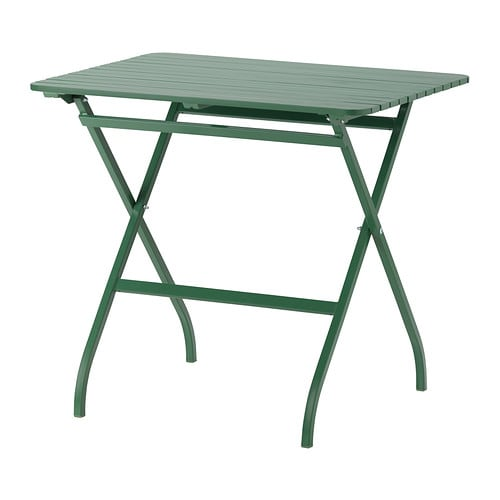 MÄLARÖ Table IKEA This table is perfect for your balcony or other small spaces, since it folds to be easy to store when you're not using it.