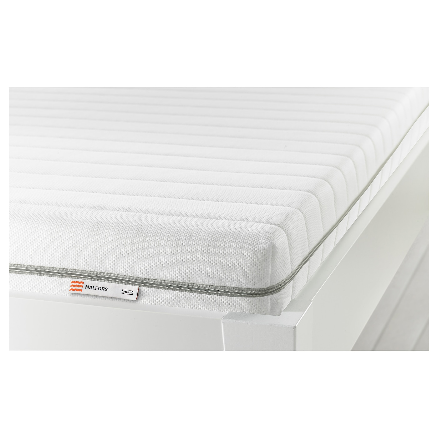 MALFORS Foam mattress Medium firm white Standard Double IKEA