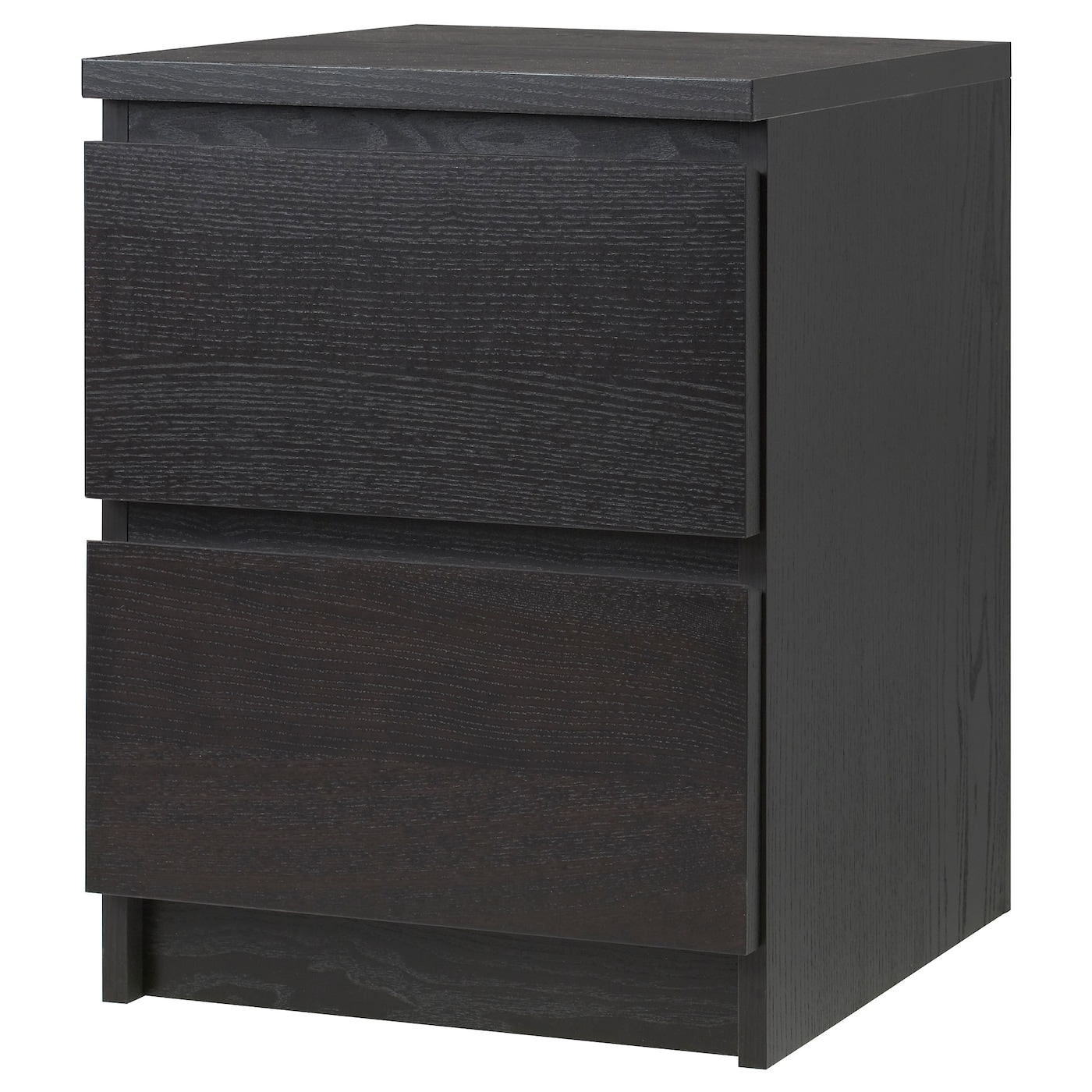 Malm chest of 2 drawers black brown 40x55 cm ikea - Black days ikea ...