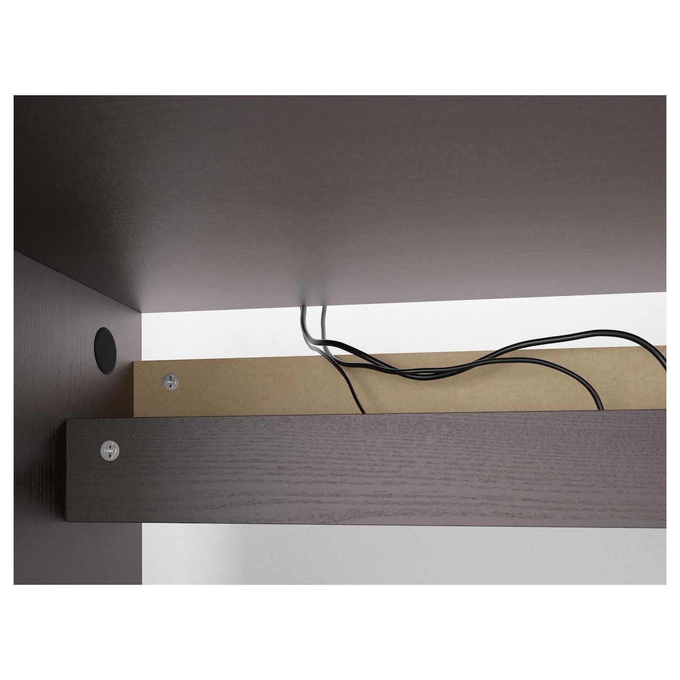 malm desk black brown 140 x 65 cm ikea. Black Bedroom Furniture Sets. Home Design Ideas