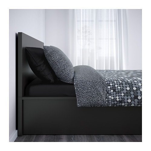 Ikea Malm Ottoman Bed Review ~ IKEA MALM ottoman bed Under the slatted base, which can be lifted