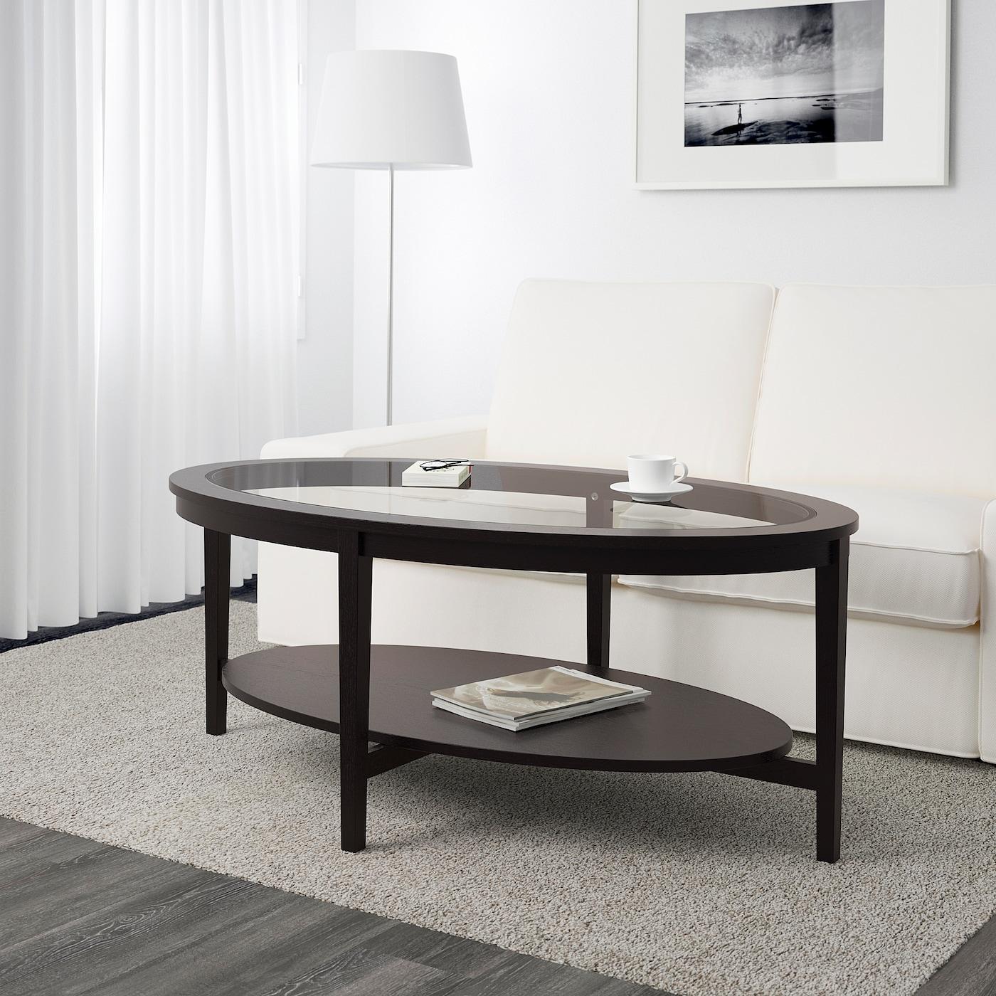 Malmsta Coffee Table Black Brown 130x80 Cm Ikea Ireland [ 1400 x 1400 Pixel ]