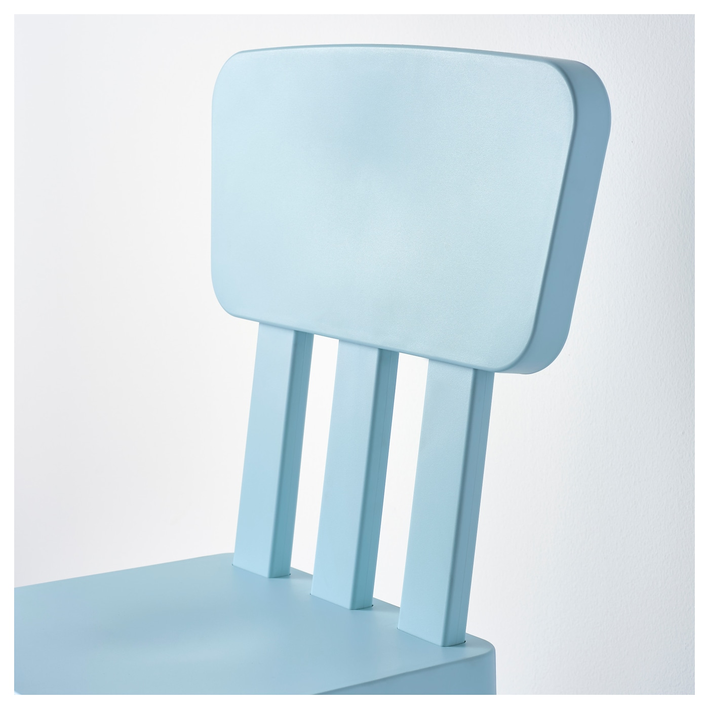 mammut children 39 s chair in outdoor light blue ikea. Black Bedroom Furniture Sets. Home Design Ideas