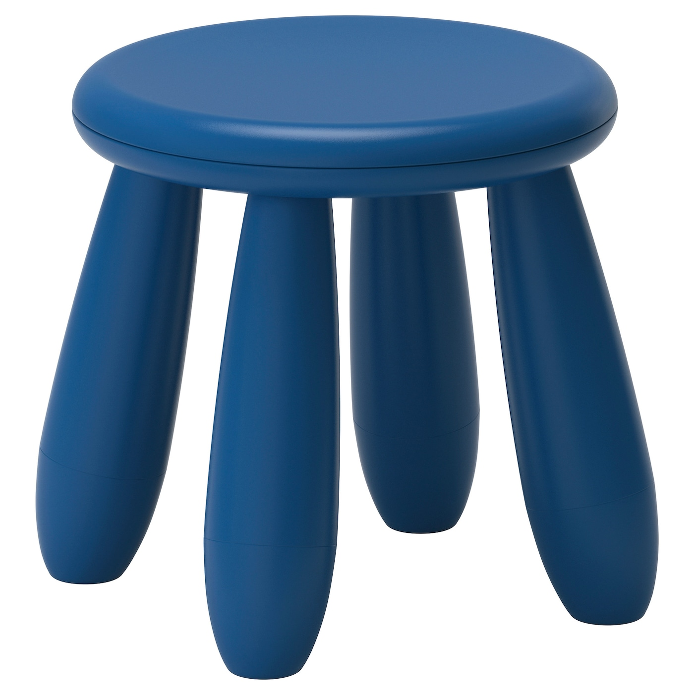 mammut children 39 s stool in outdoor dark blue ikea. Black Bedroom Furniture Sets. Home Design Ideas