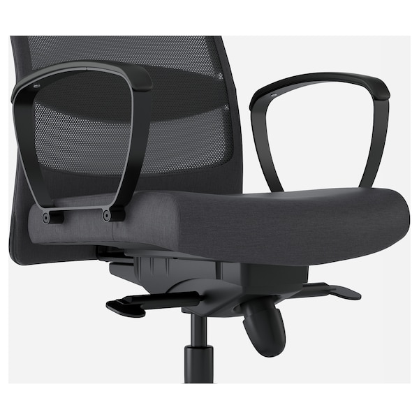 MARKUS office chair Vissle dark grey 110 kg 62 cm 60 cm 129 cm 140 cm 53 cm 47 cm 46 cm 57 cm