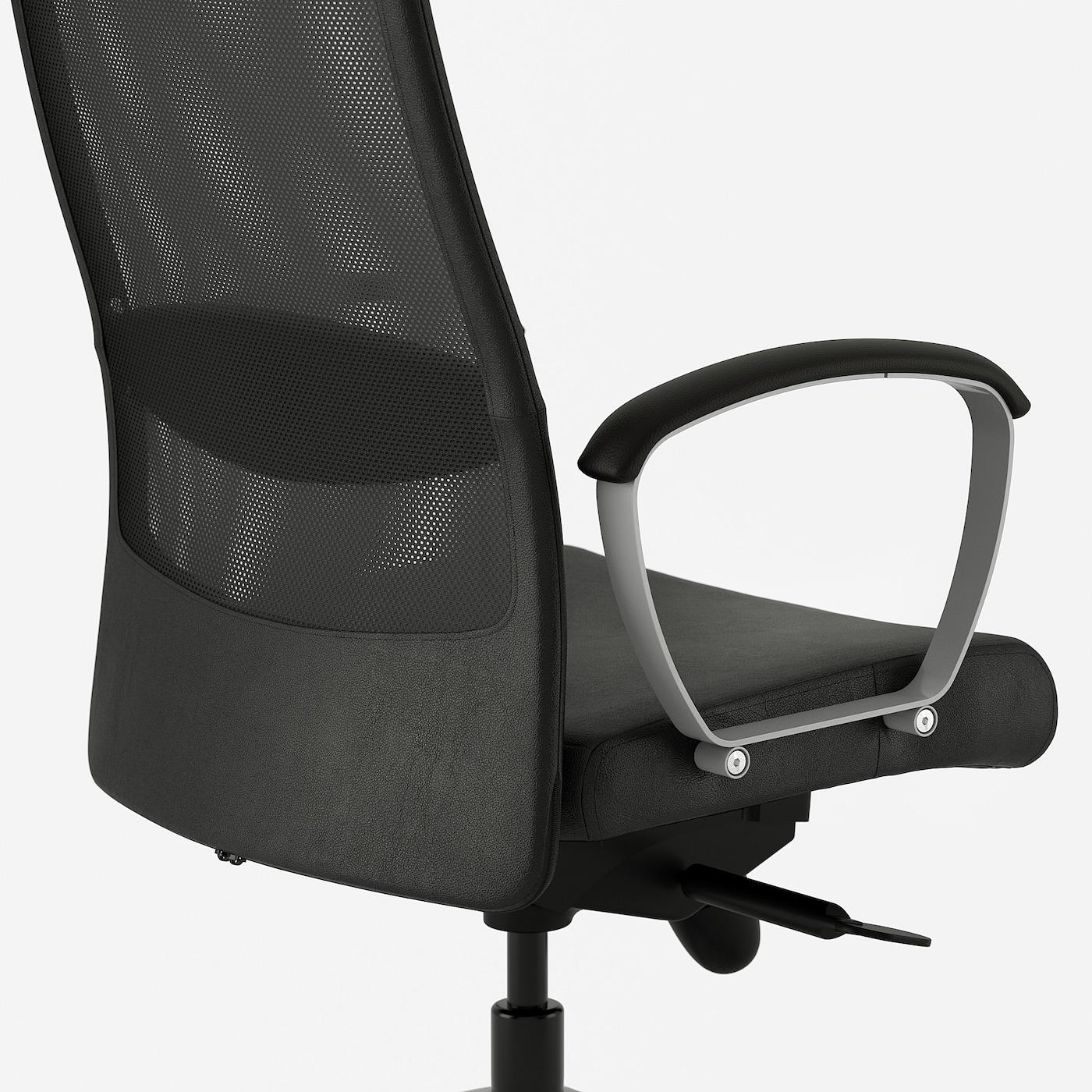 MARKUS office chair Glose black 110 kg 62 cm 60 cm 129 cm 140 cm 53 cm 47 cm 46 cm 57 cm