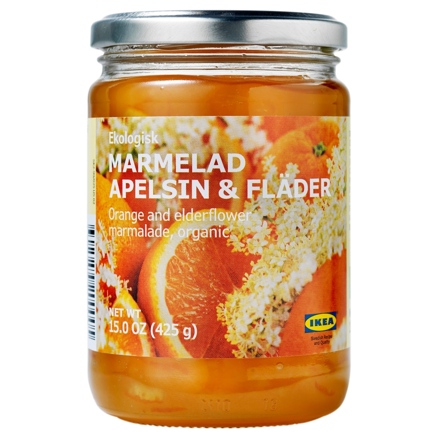 IKEA MARMELAD APELSIN & FLÄDER orange- and elderflower marmalade