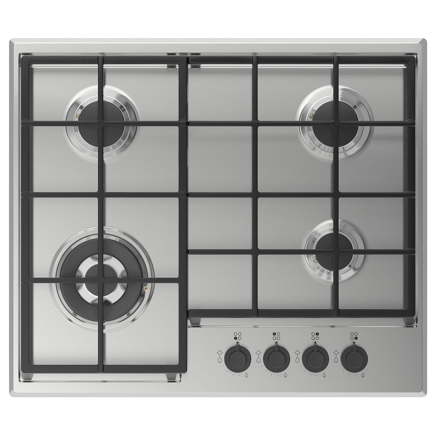 IKEA MATMÄSSIG gas hob 5 year guarantee. Read about the terms in the guarantee brochure.