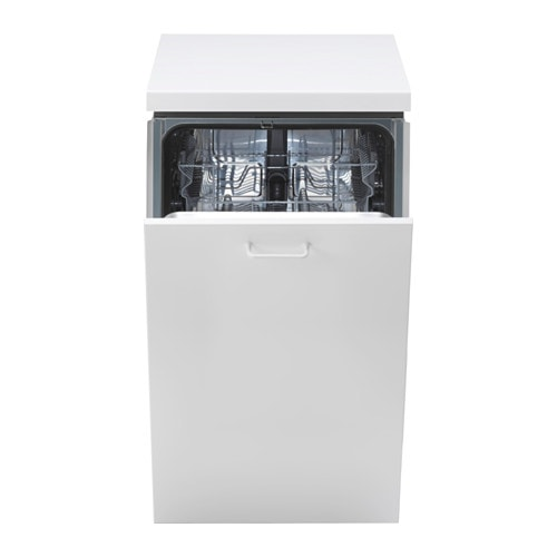 IKEA MEDELSTOR integrated dishwasher A muffled sound signal indicates when a program is finished.