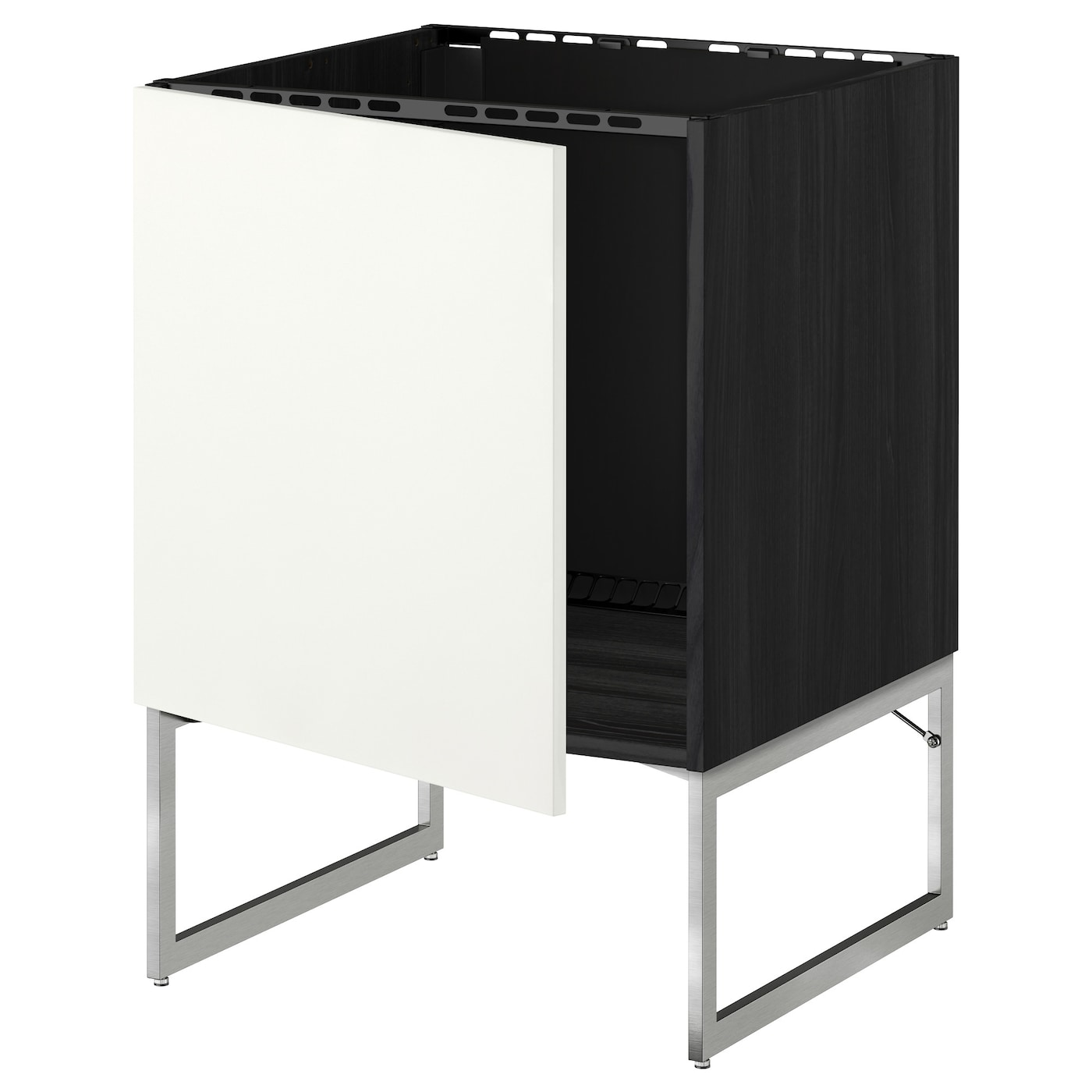IKEA METOD base cabinet for sink You can choose to mount the door on the right or left side.