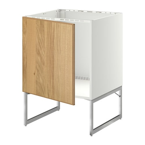 Aneboda Ikea Kleiderschrank ~ IKEA METOD base cabinet for sink You can choose to mount the door on