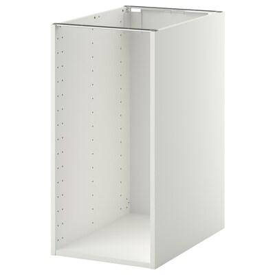 METOD Base cabinet frame, white, 40x60x80 cm