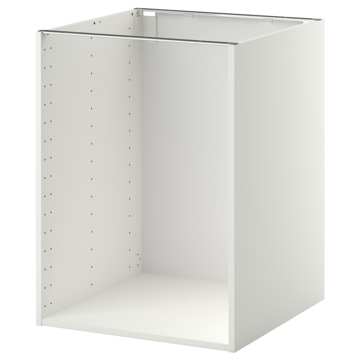 metod base cabinet frame white 60x60x80 cm ikea. Black Bedroom Furniture Sets. Home Design Ideas