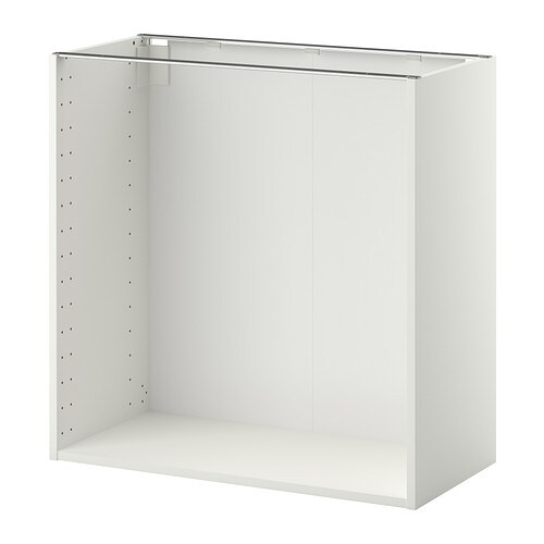 IKEA METOD base cabinet frame 25 year guarantee. Read about the terms in the guarantee brochure.