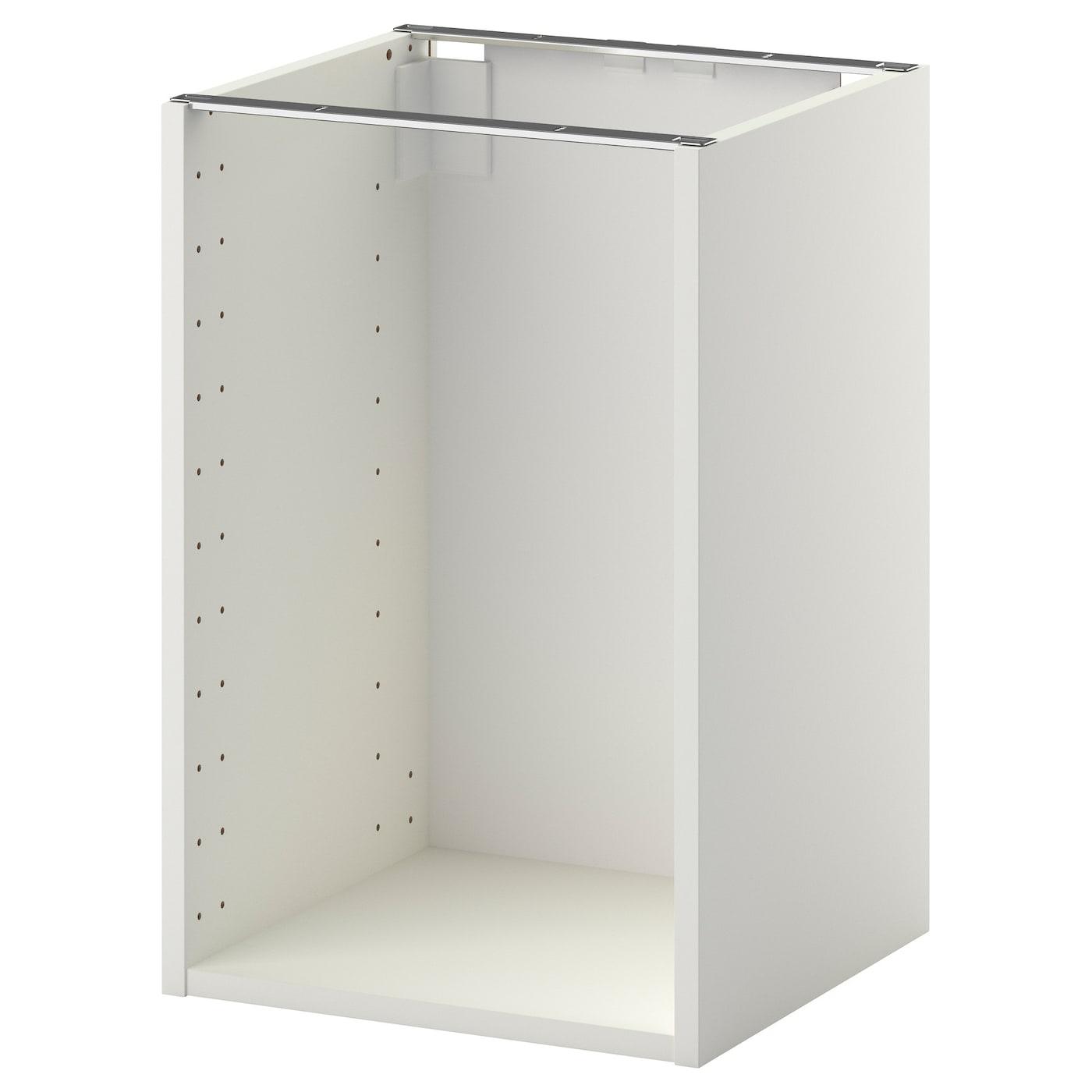 Ikea Kitchen Cabinet Construction: METOD Base Cabinet Frame White 40x37x60 Cm