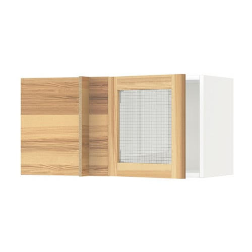 Ikea Patrull Kindersicherung ~ IKEA METOD corner wall cabinet with glass door