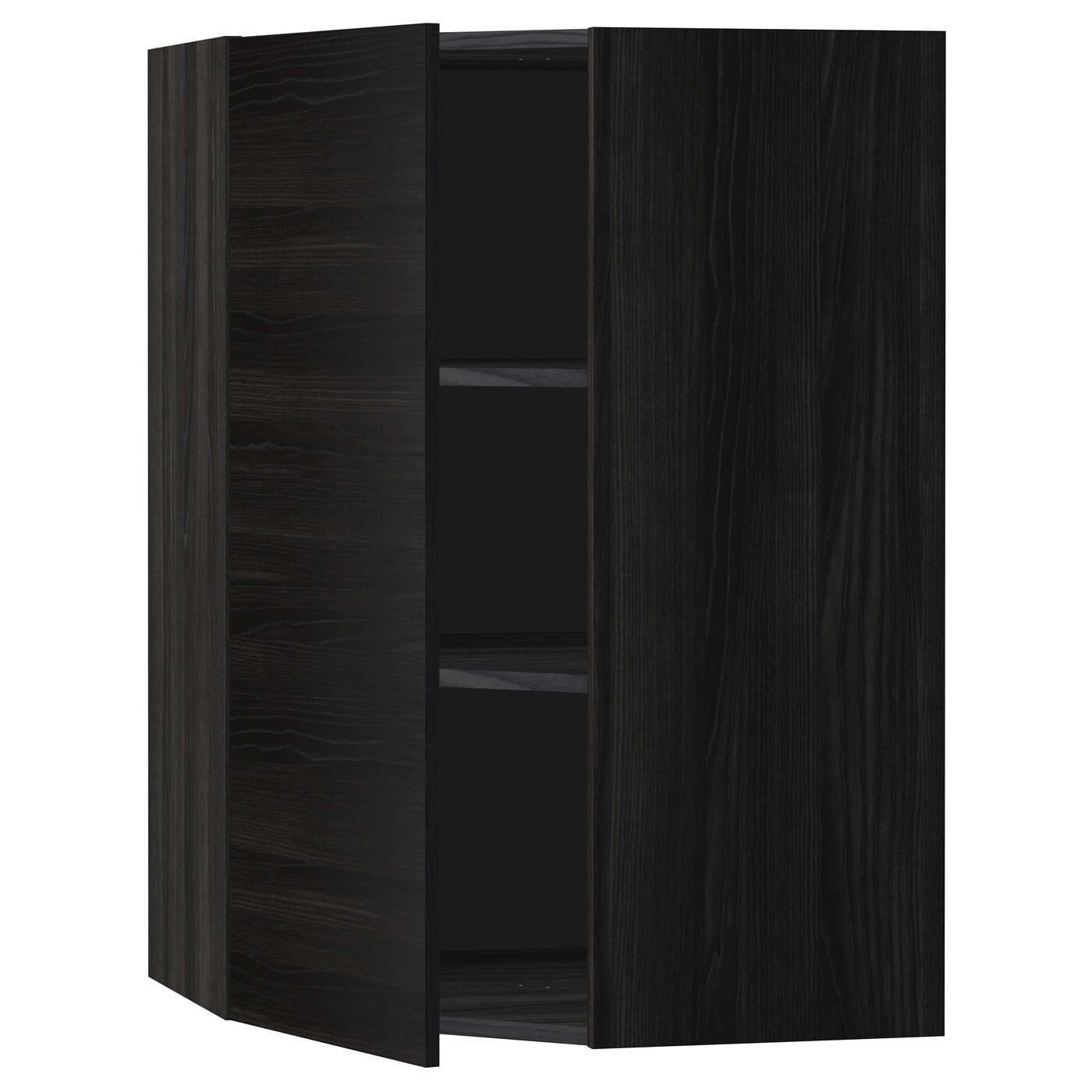 Ikea metod corner wall cabinet with shelves sturdy frame construction 18 mm thick