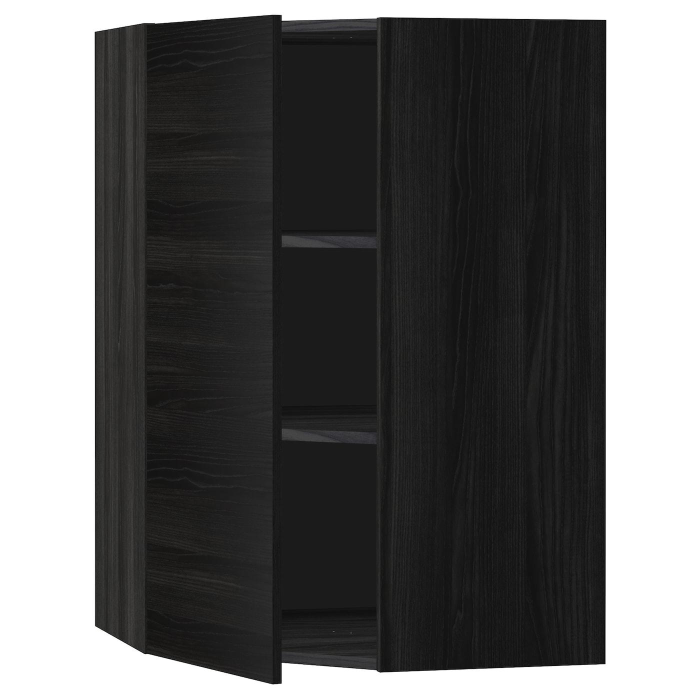 Corner Black Cabinet