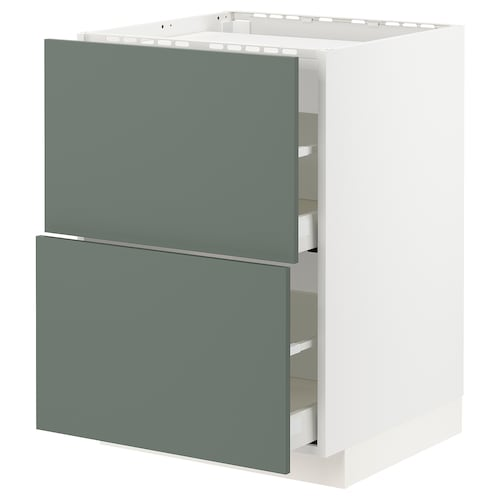 IKEA METOD / MAXIMERA Base cab f hob/2 fronts/2 drawers