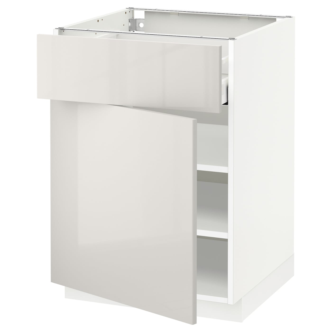 Ikea Kitchen Cabinet Lighting: METOD/MAXIMERA Base Cabinet With Drawer/door White