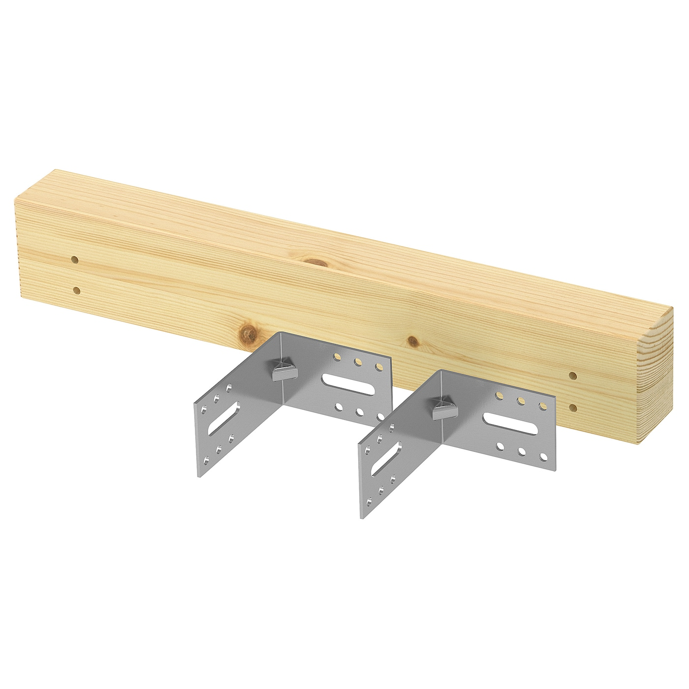 IKEA METOD support bracket for kitchen island
