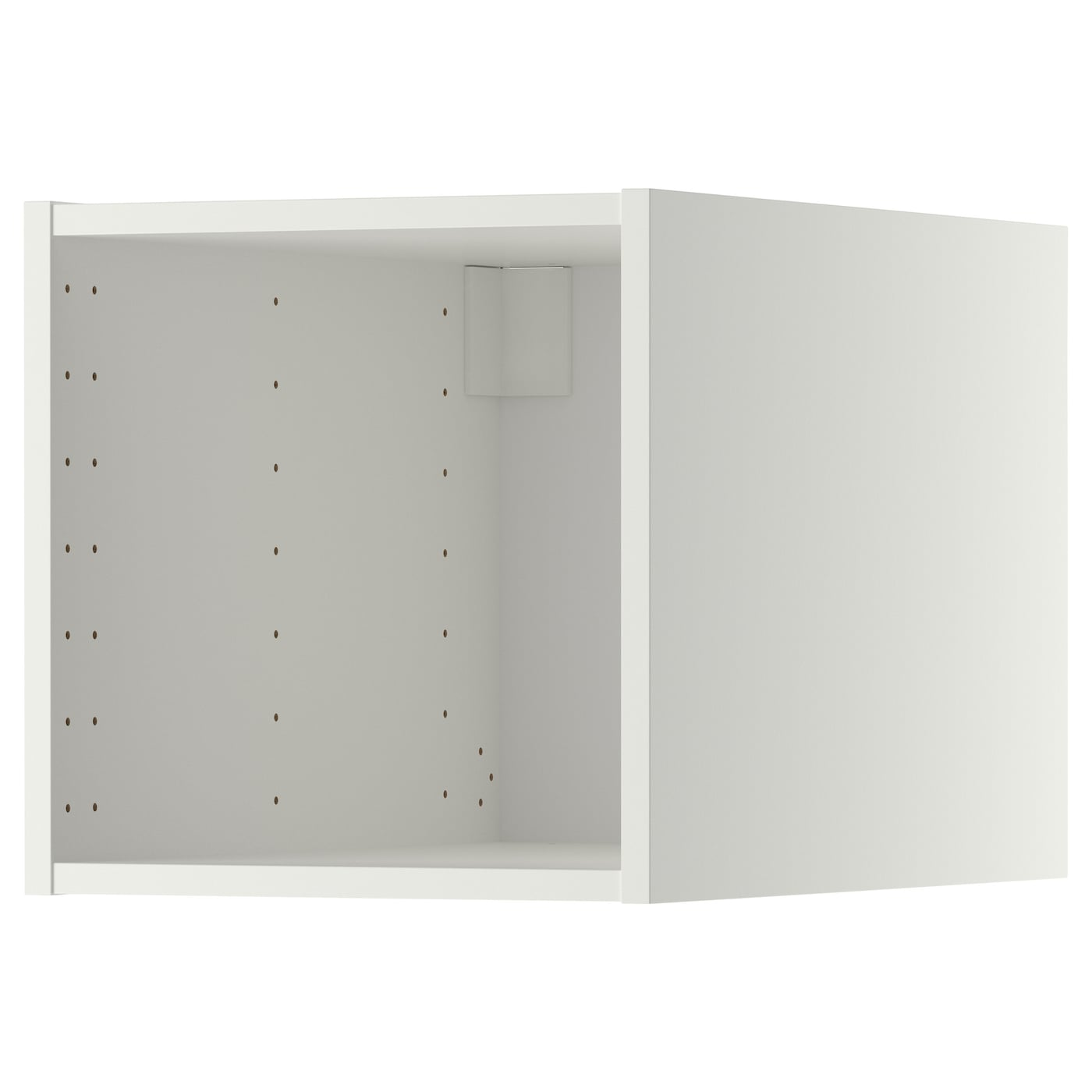 IKEA METOD top cabinet Sturdy frame construction, 18 mm thick.