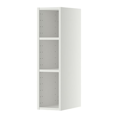 IKEA METOD wall cabinet frame Sturdy frame construction, 18 mm thick.